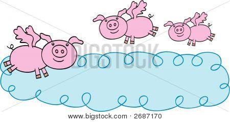 Flying Pigs Banner