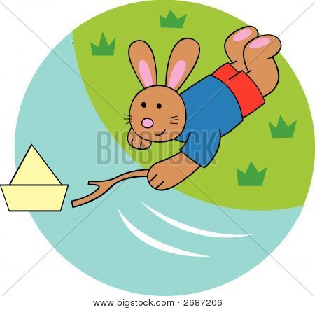 Paper Boat Bunny
