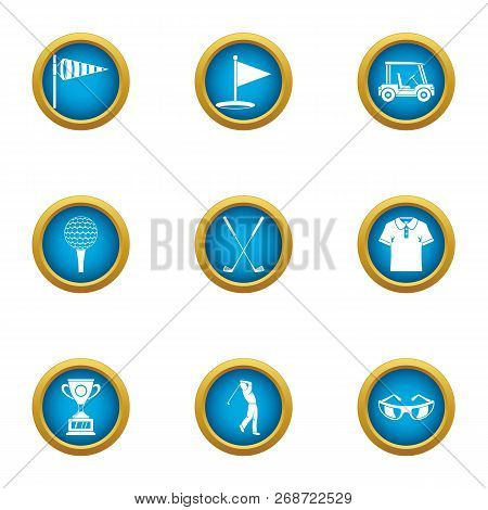 Best Punch Icons Set. Flat Set Of 9 Best Punch Icons For Web Isolated On White Background
