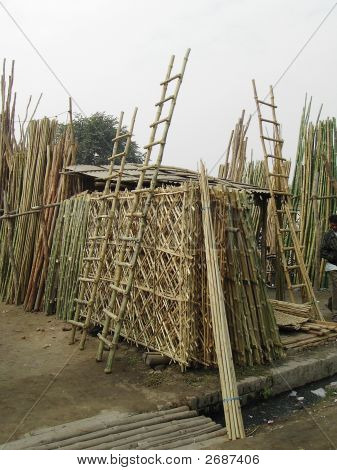 Baans Mandi - The Bamboo Market