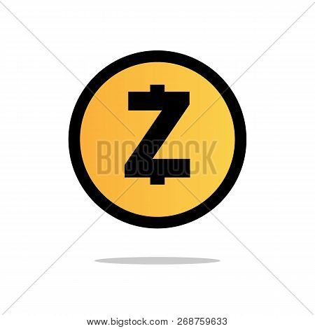 Zcash (zec) Crypto Currency Icon For Apps And Websites.