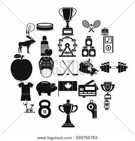Sports Uniform Icons Set. Simple Set Of 25 Sports Uniform Icons For Web Isolated On White Background