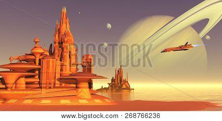 Titan Moon Environment