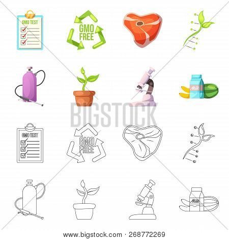 Vector Design Of  And  Icon. Set Of  And  Stock Symbol For Web.