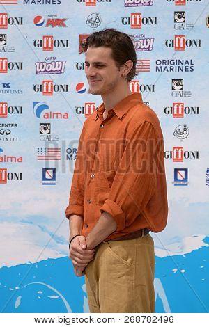 Giffoni Valle Piana, Sa, Italy - July 24, 2018 : Andrea Arcangeli At Giffoni Film Festival 2018 - On