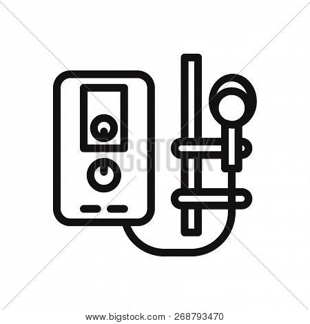 Water Heater Icon Isolated On White Background. Water Heater Icon In Trendy Design Style. Water Heat