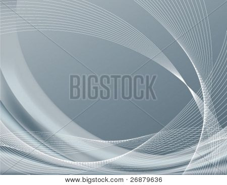 Gray or silver background, perfect for templates; contains gradient meshes only editable in Adobe Illustrator
