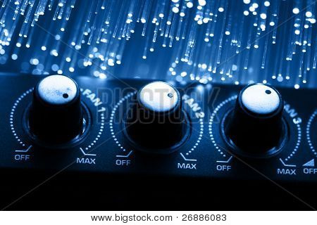 High tech technology color background