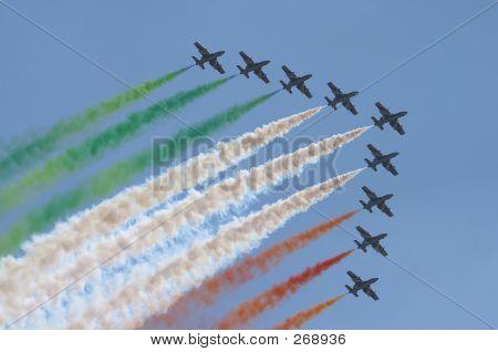 Italian Pilots In The Sky.