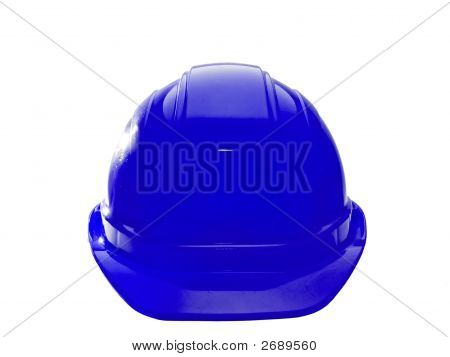 Blue Hard Hat