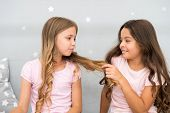 Girls sisters spend pleasant time communicate in bedroom. Benefits having sister. Awesome perks of having sister. Sisters older or younger major factor in siblings having more positive emotions. poster