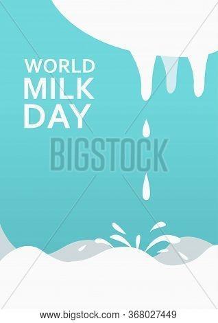 World Milk Day Vertical Poster Template