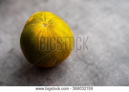 Dosakai Raw Cucumber Or Cucumis Sativus, Cucurbitaceae Melon Family.