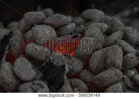 Blazing Charcoal - Embers Nest And Embers, Glowing Embers