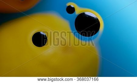 High Quality Abstract Close-up Of A Bright Colourful Natural Bacground With Lemons And Oranges Givin