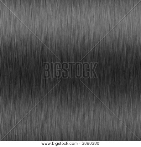 High-Contrast Brushed Aluminum