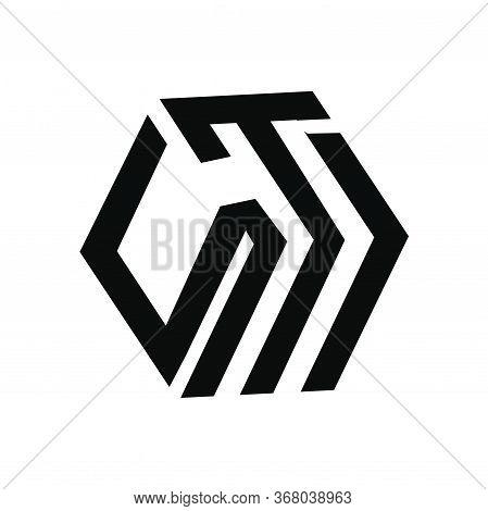 Stj, Sti, Its,tsj, Jts Initials Geometric Cubic Letter Model Logo And Vector Icon