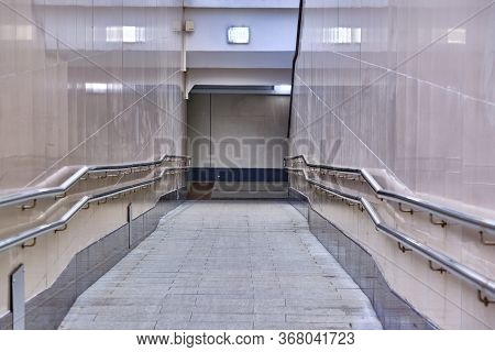 Empty Descent Into The Underpass General Plan