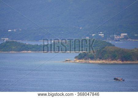 28 Sept 2008 The Coast Landscape Of Sai Kung Hong Kong
