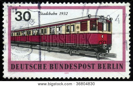 Railtransport Of Berlin