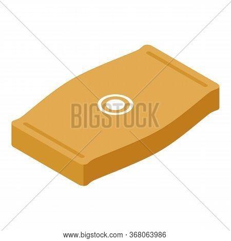 Pocket Sack Icon. Isometric Of Pocket Sack Vector Icon For Web Design Isolated On White Background