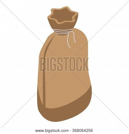 Agriculture Sack Icon. Isometric Of Agriculture Sack Vector Icon For Web Design Isolated On White Ba