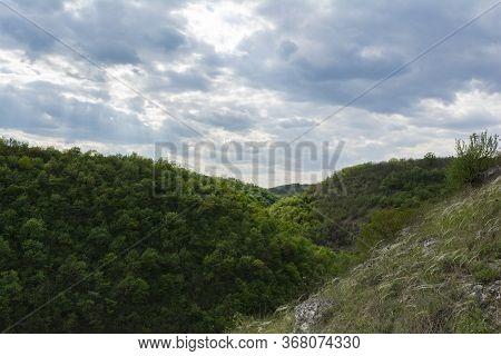 Beautiful Gully Near Saharna Monastery, Republic Of Moldova