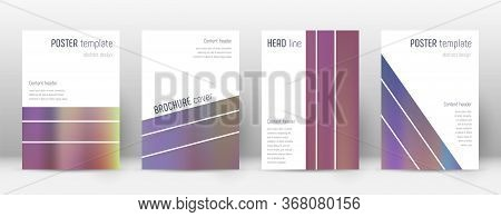 Flyer Layout. Geometric Magnificent Template For Brochure, Annual Report, Magazine, Poster, Corporat
