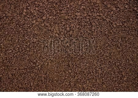 Fertile Soil Texture As Background With Copy Space