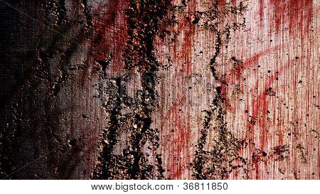 Grunge Bloody Wall