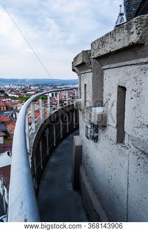 Panoramic View Of Drobeta Turnu Severin City As Seen From Water Tower, Mehedinti County.