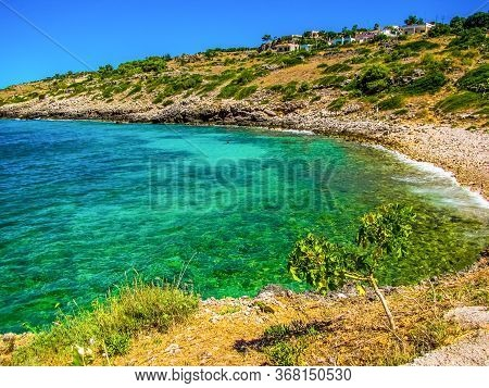 Beautiful Bay In Salento, Apulia, Southern Italy