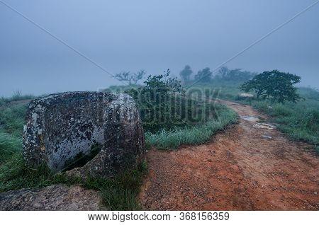 Plain Of Jars Archeological Site, Phonsavan, Laos