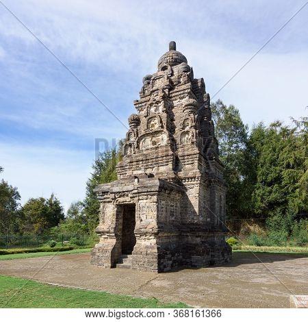 Candi Bima Hindu Temple, Near Arjuna Complex In Dieng Plateau, Central Java, Indonesia