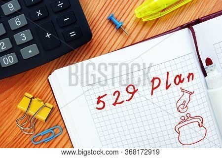 529 Plan Phrase On The Page.