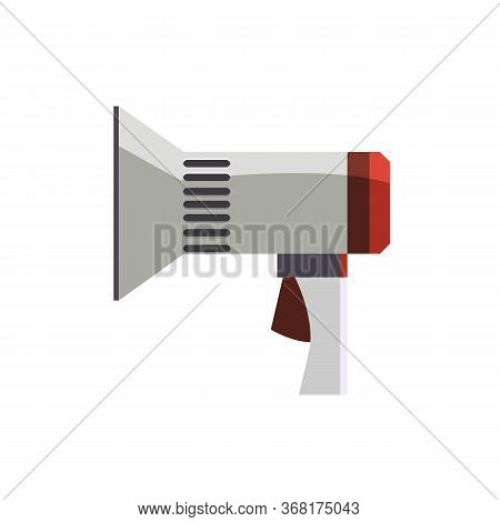 Bullhorn Illustration. Megaphone, Message, Attention. Announcement Concept. Illustration Can Be Used