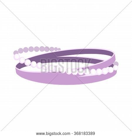 Jewels Illustration. Pearl Beads, Ring, Bracelet. Jewelry Concept. Illustration Can Be Used For Topi