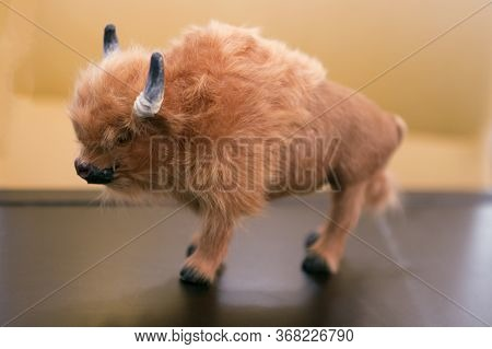 Shaggy Toy Animal African Furry Bison Aurochs