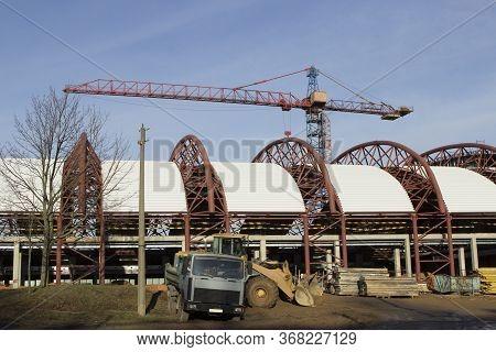 Construction Of A Shopping Center, Tennis Court, Sports Fitness Center, Enterprise