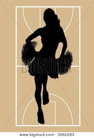 Basketball Cheerleader 1