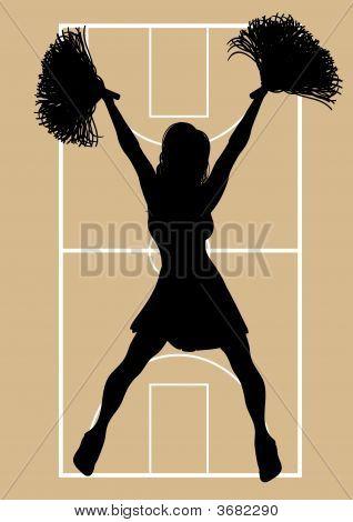 Basketball Cheerleader 6