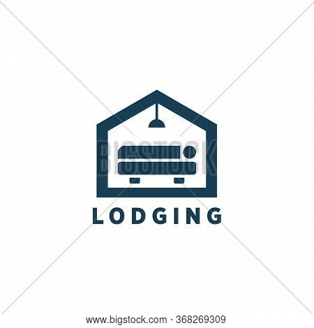 Logging Logo Vector And Icon Home, Renting Logo, Dwelling Logo