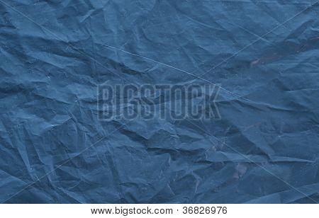 Dark Blue Toned Textured Background