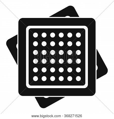 Cracker Icon. Simple Illustration Of Cracker Vector Icon For Web Design Isolated On White Background