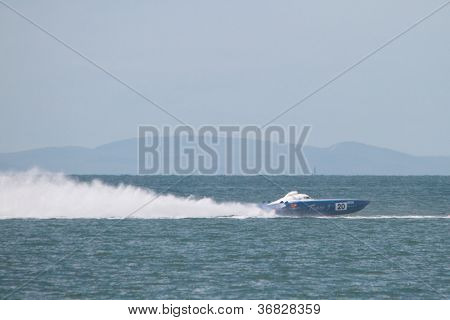 Brisbane, Australia - September 16 : Team 3 Participating In Round 5 Of Offshore Superboat Champions