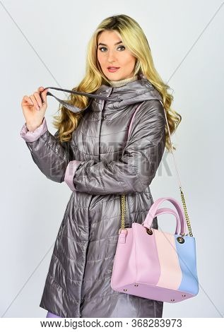Your Favorite Bag. Handbag Fashion And Beauty. Tote Or Shopper Bag For Any Occasion. Woman Use Leath