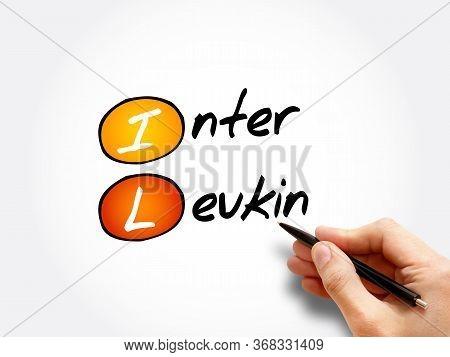 Il - Interleukin Acronym, Medical Concept Background
