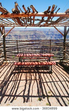 Observation Shelter Grand Canyon