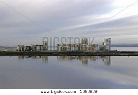 Flats On The Firth Of Forth, Scotland