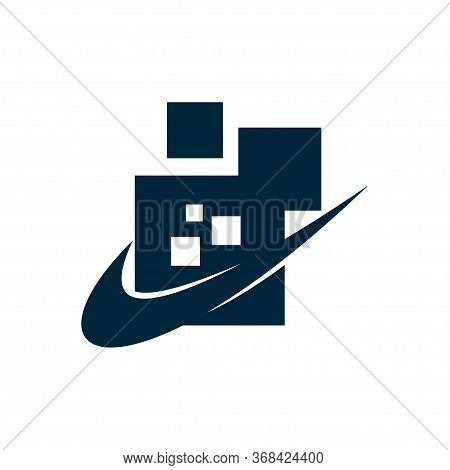 Abstract Technology Design Vector Illustration Logo Isolated